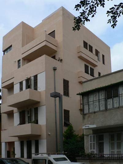 bauhaus und moderne in tel aviv