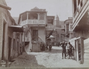 Supra Feiern auf Georgisch