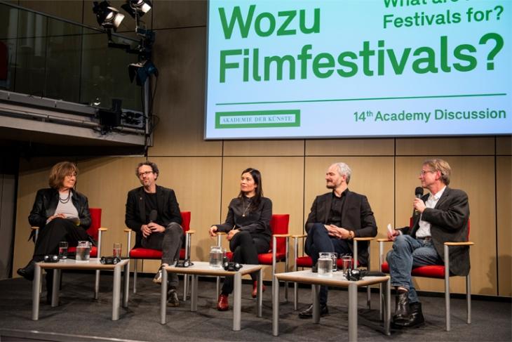 Wozu Filmfestivals? - Eine Diskussionsveranstaltung in der Akademie der Künste