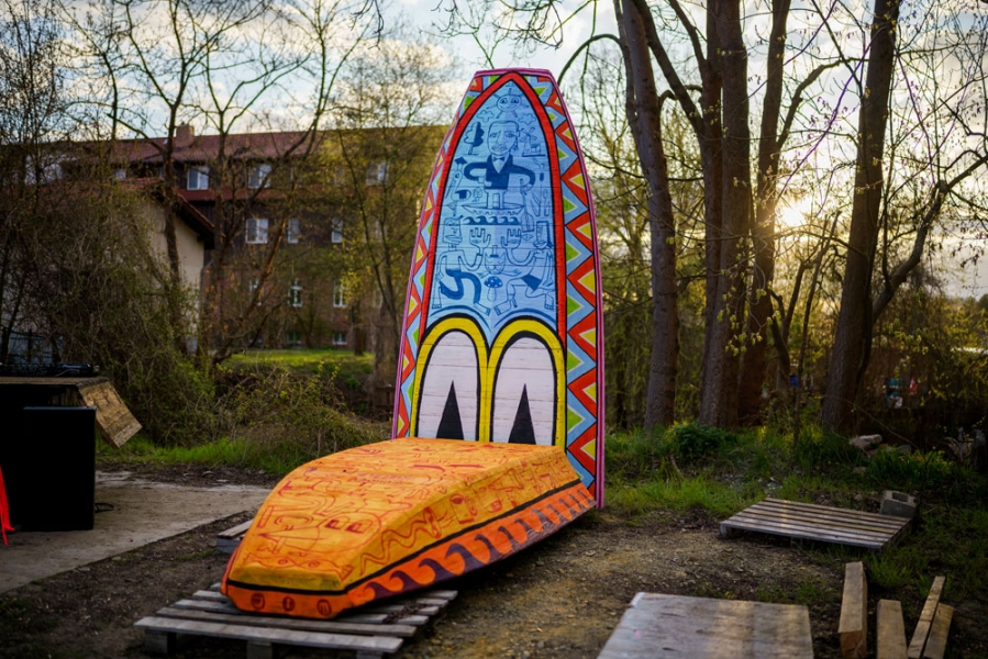 Interviewreihe zum Spreewälder Kunstfestival aquamediale