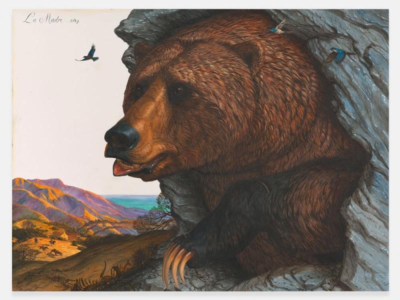 Das Tier in altmeisterlicher Manier: Walton Fords Aquarelle in der Galerie Max Hetzler